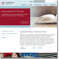 Leadership Tomorrow Website