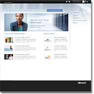 Microsoft Server Tools and Marketing Group